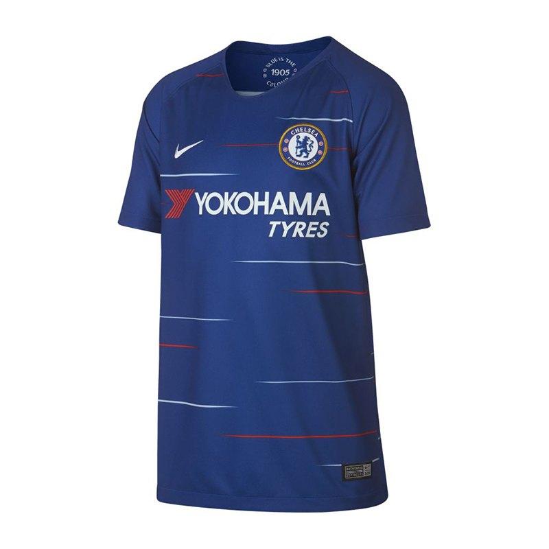 Nike FC Chelsea London Trikot Home Kids 18/19 F496 - blau