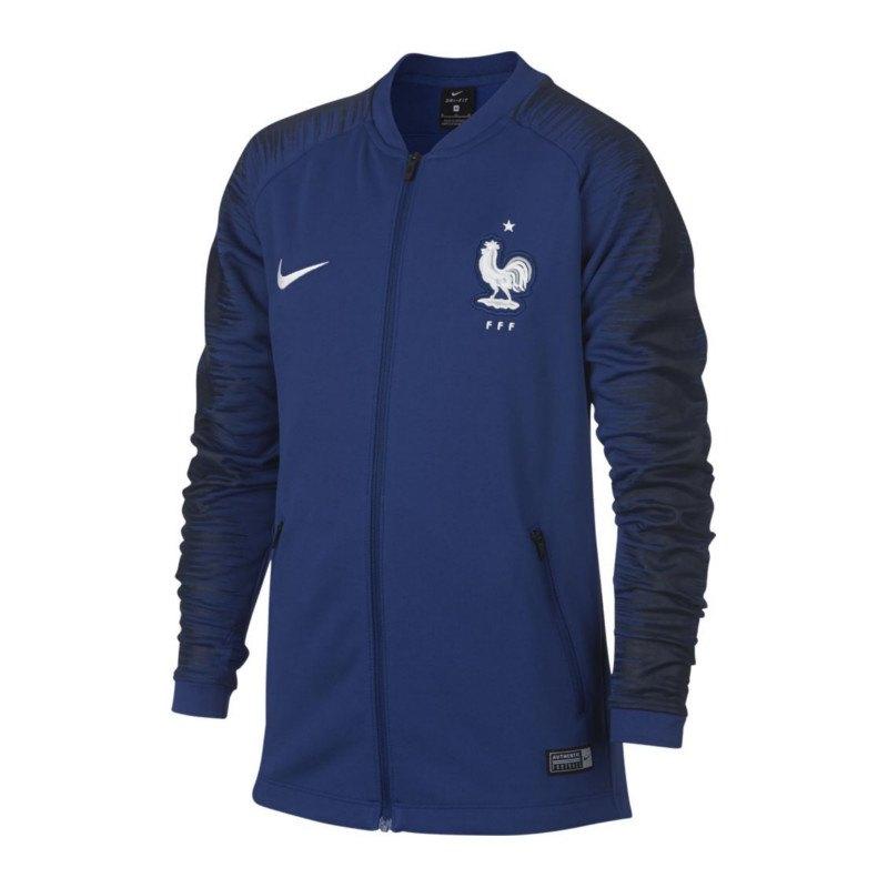 Nike Frankreich Anthem Football Jacket Kids F455 - Blau