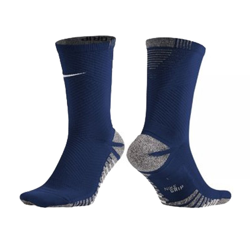 Nike Grip Strike Light Crew Football Socken F455 - blau