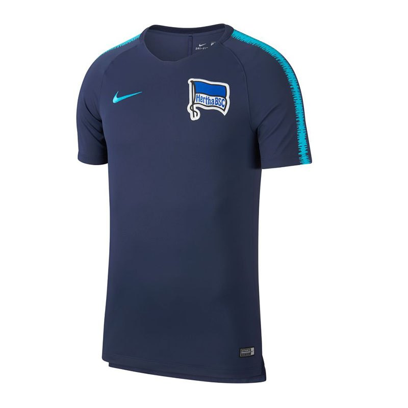 Nike Hertha BSC Berlin Breathe Squad T-Shirt F414 - blau