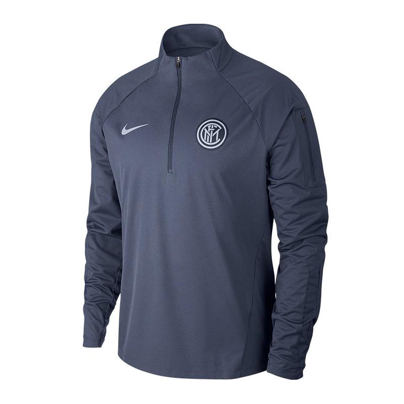 Nike Inter Mailand Shield Squad Sweatshirt F475 - blau