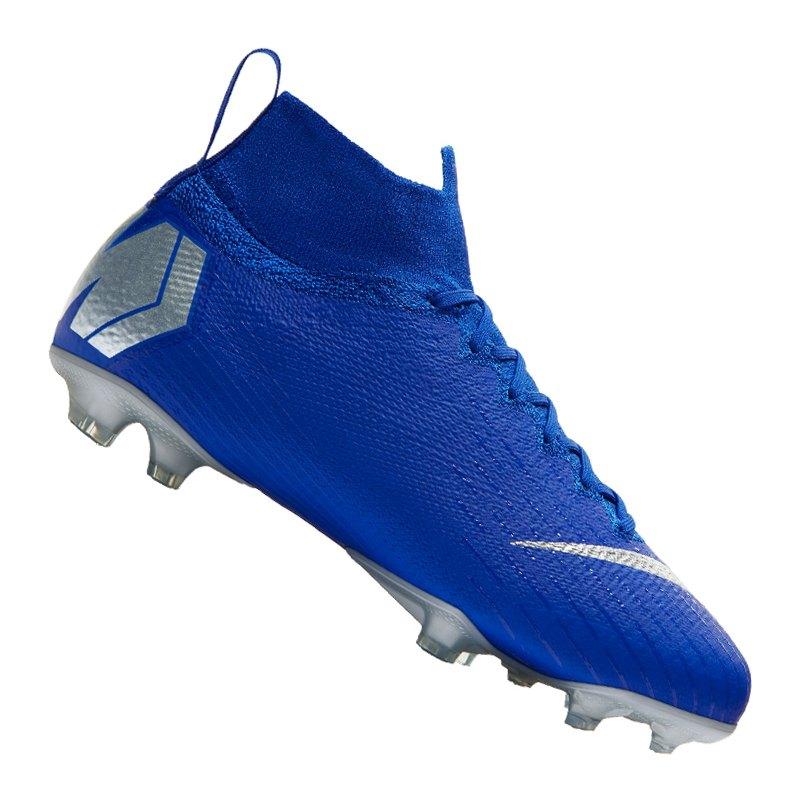 Nike Jr Mercurial Superfly VI Elite FG Kids F400 - blau