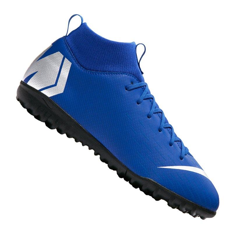Nike Jr Mercurial SuperflyX VI Academy TF GS Kids F400 - blau