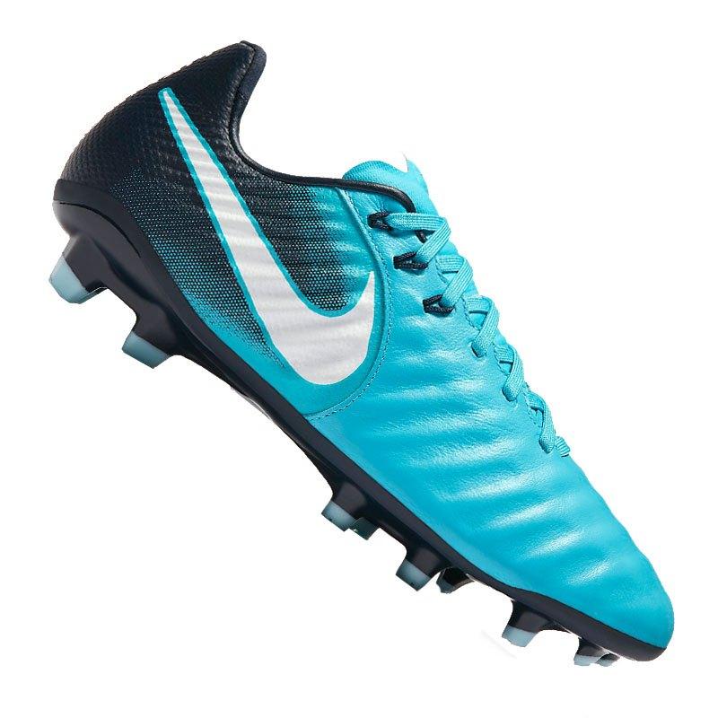 Nike Jr Tiempo Legend VII FG Kids Blau F414 - blau