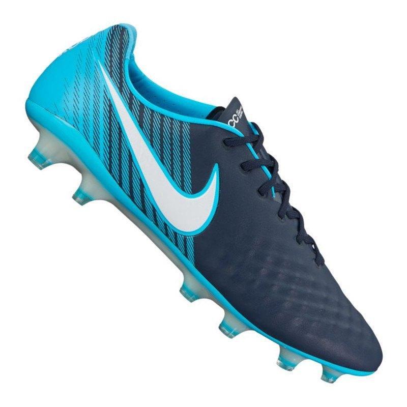 Nike Magista Opus II FG Blau Schwarz F414 - blau