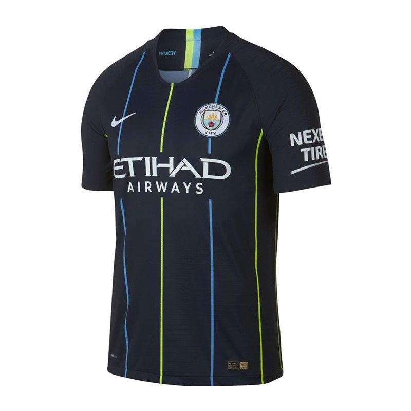 Nike Manchester City Authentic Trikot Away 2018/2019 F476 - blau