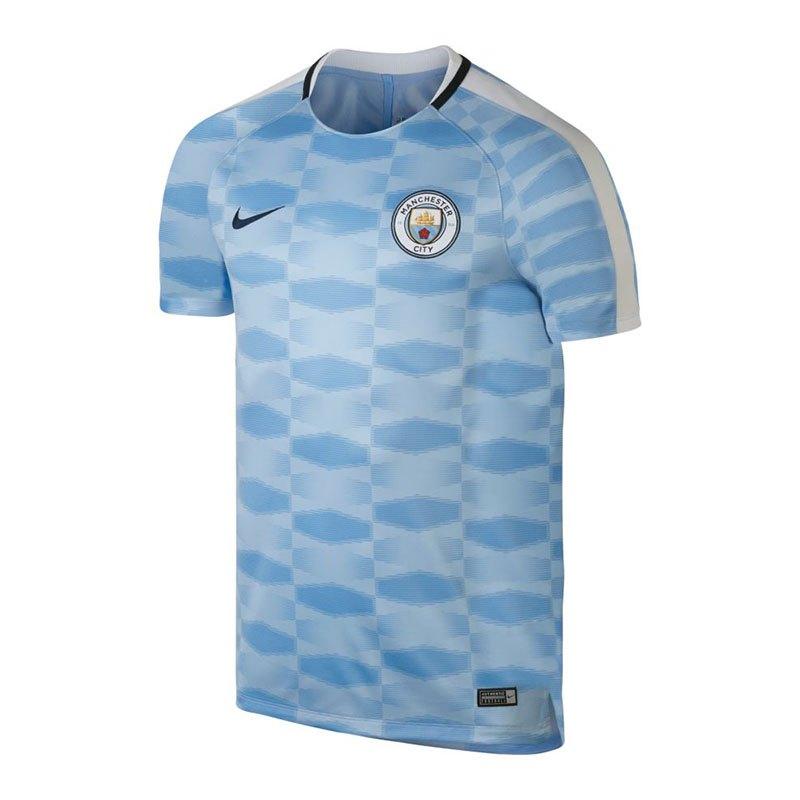 Nike Manchester City Dry Squad T-Shirt Blau F488 - blau