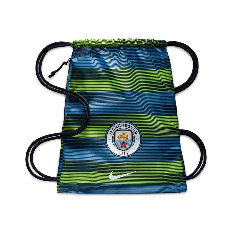 Nike Manchester City Gymsack Turnbeutel Blau F489 - blau