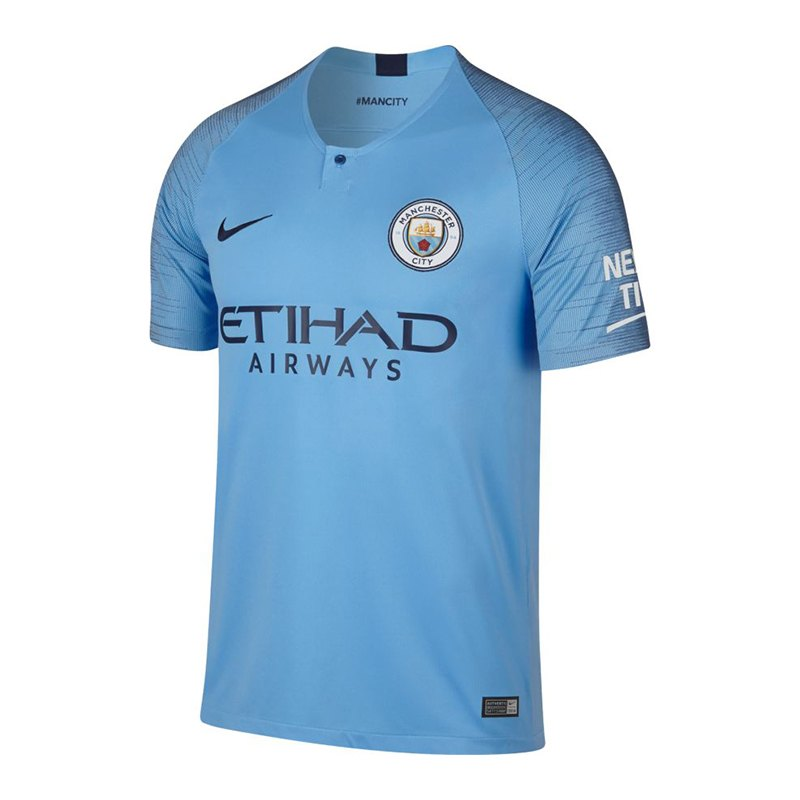 Nike Manchester City Trikot Home 2018/2019 F489 - blau