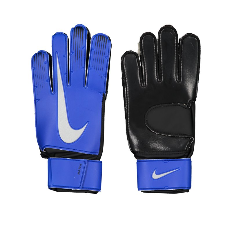 Nike Match Torwarthandschuh Blau F410 - blau