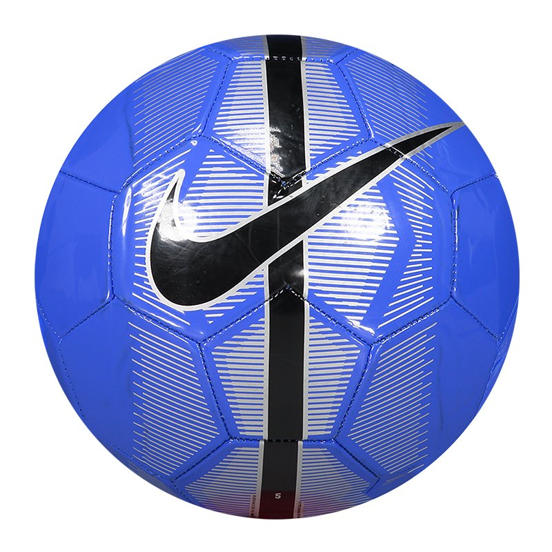Nike Mercurial Fade Fussball Blau Silber F416 - blau