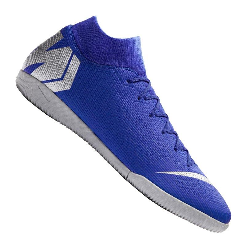 Nike Mercurial SuperflyX VI Academy IC Blau F400 - blau