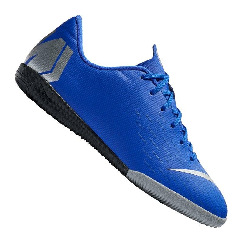Nike Mercurial VaporX XII Academy IC GS Kids F400 - blau