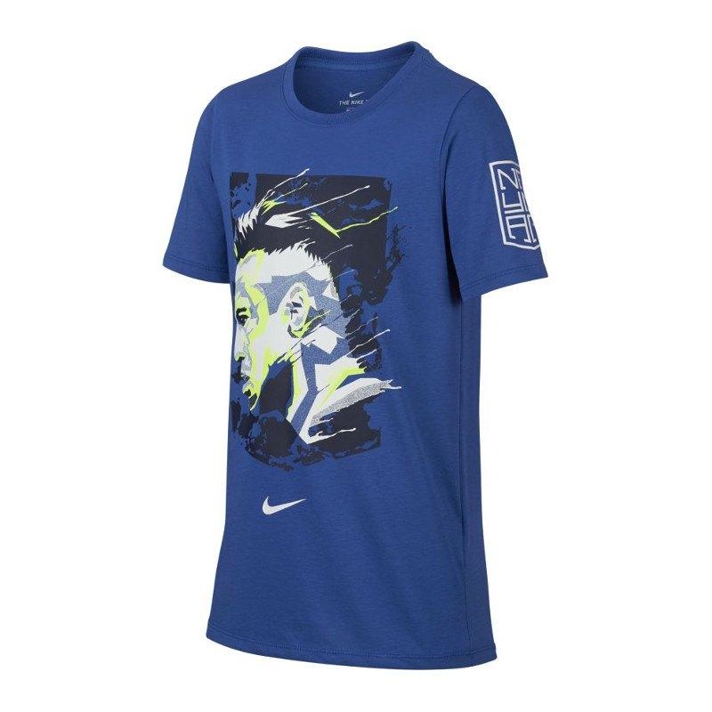 Nike Neymar Dry Hero T-Shirt Kids Blau F480 - blau