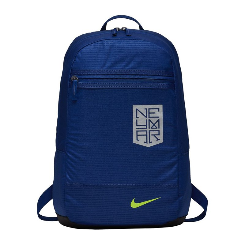 nike neymar football backpack rucksack blau f455. Black Bedroom Furniture Sets. Home Design Ideas