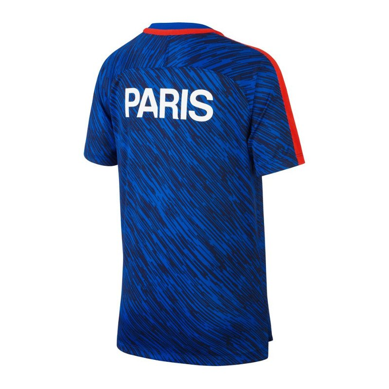 Nike Dry Squad T Shirt Paris St Germain Kids F440