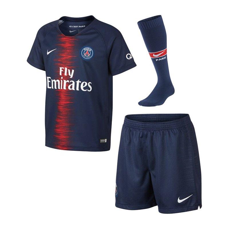 Nike Paris St. Germain Minikit Home 2018/2019 F411 - blau