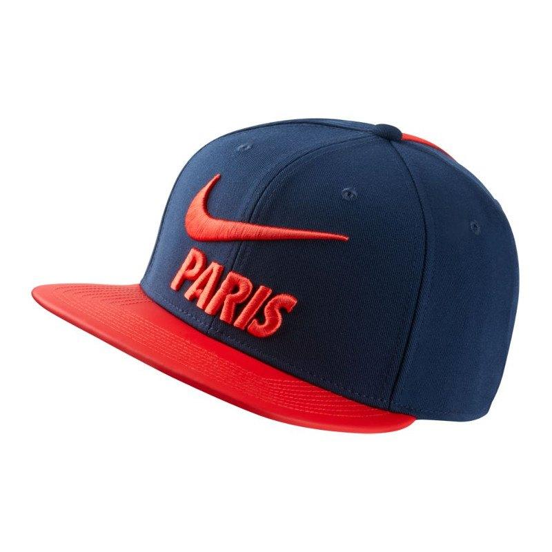 Nike Paris St. Germain Pro Cap Kappe Blau F410 - blau