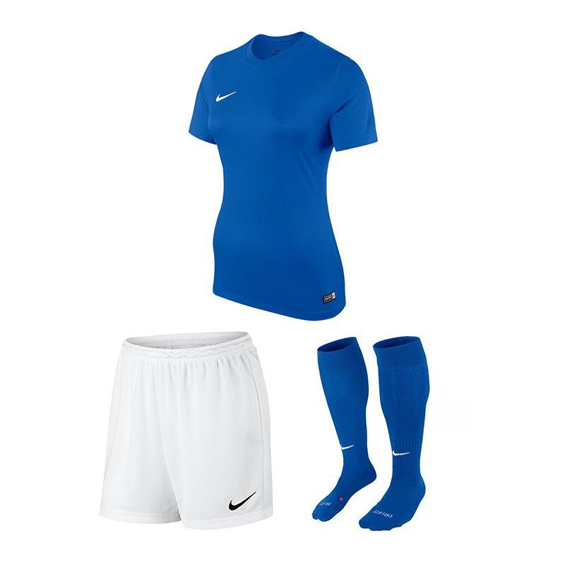 Nike Park VI Trikotset Damen Blau F480 - blau