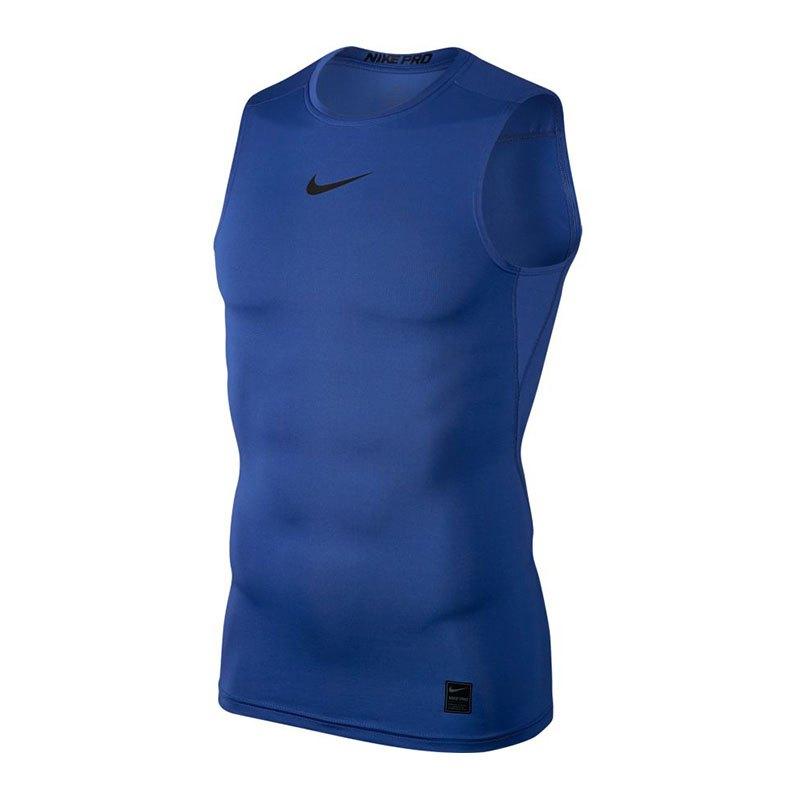 Nike Pro Compression Tanktop Blau F480 - blau