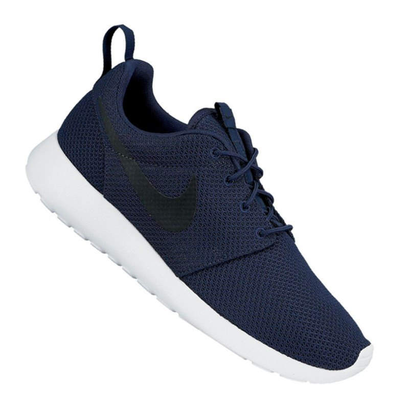 nike roshe run sneaker blau schwarz f405 m nner men. Black Bedroom Furniture Sets. Home Design Ideas