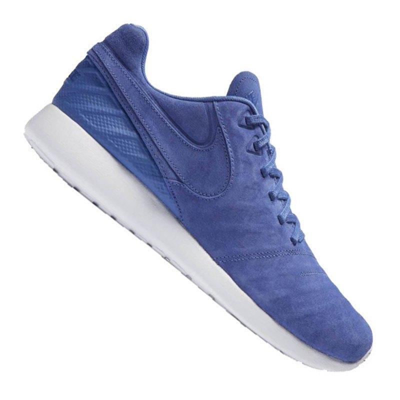 Nike Roshe Tiempo VI Sneaker Blau Weiss F401 - blau