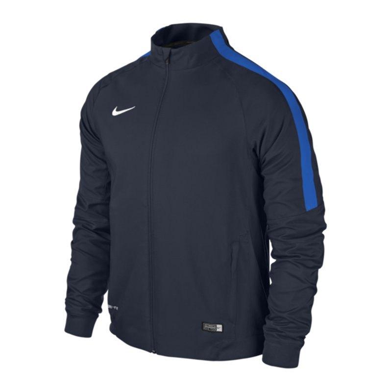 Nike Squad 15 Sideline Woven Jacke Blau F451 - blau