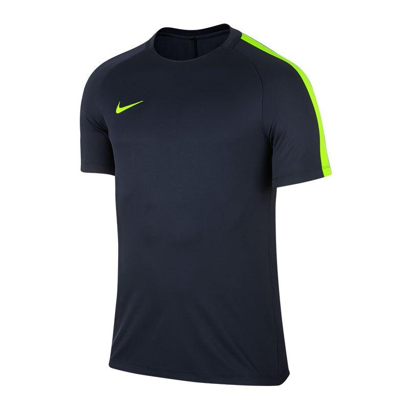 Nike Squad 17 Dry Trainingstop Blau Gelb F451 - blau