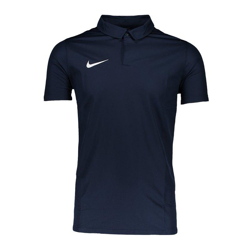 Nike Squad 17 Poloshirt Blau F451 - blau