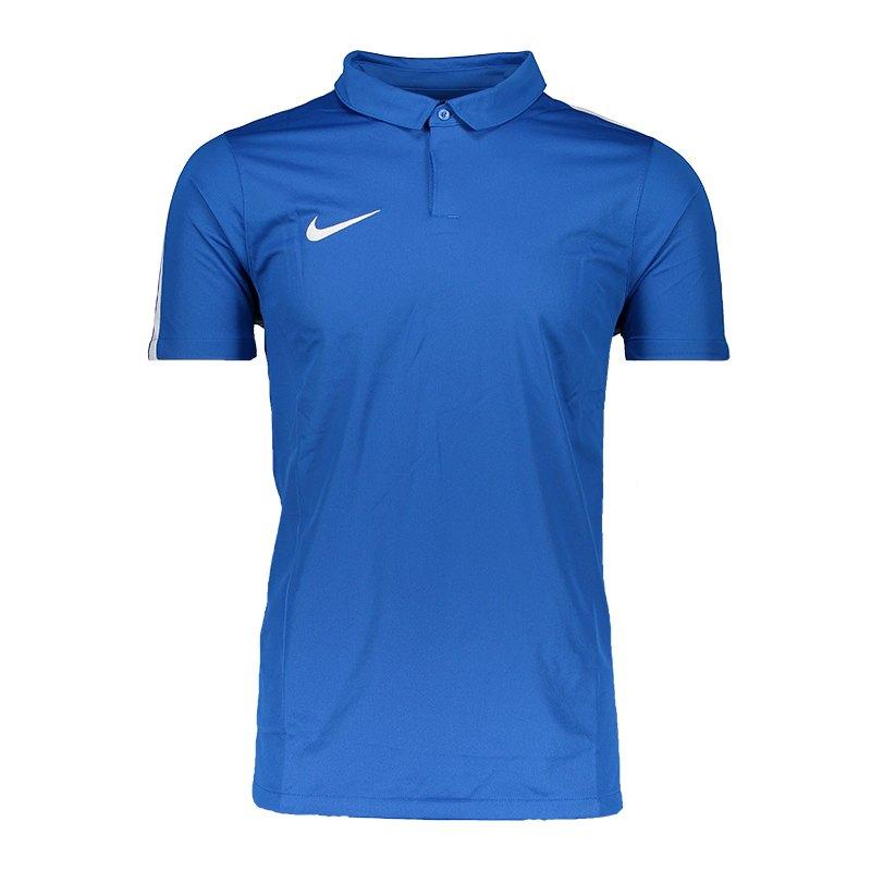 Nike Squad 17 Poloshirt Blau F463 - blau