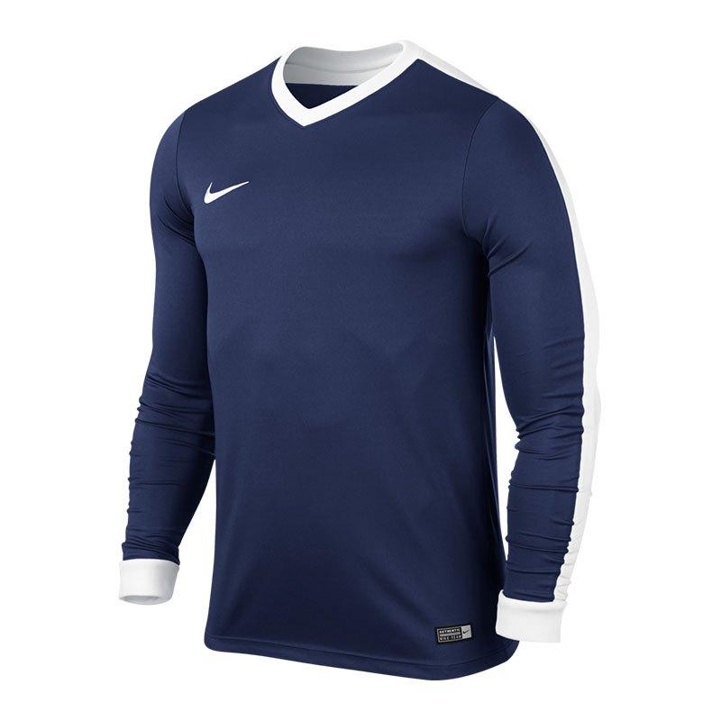 Nike Striker IV Trikot langarm Blau Weiss F410 - blau