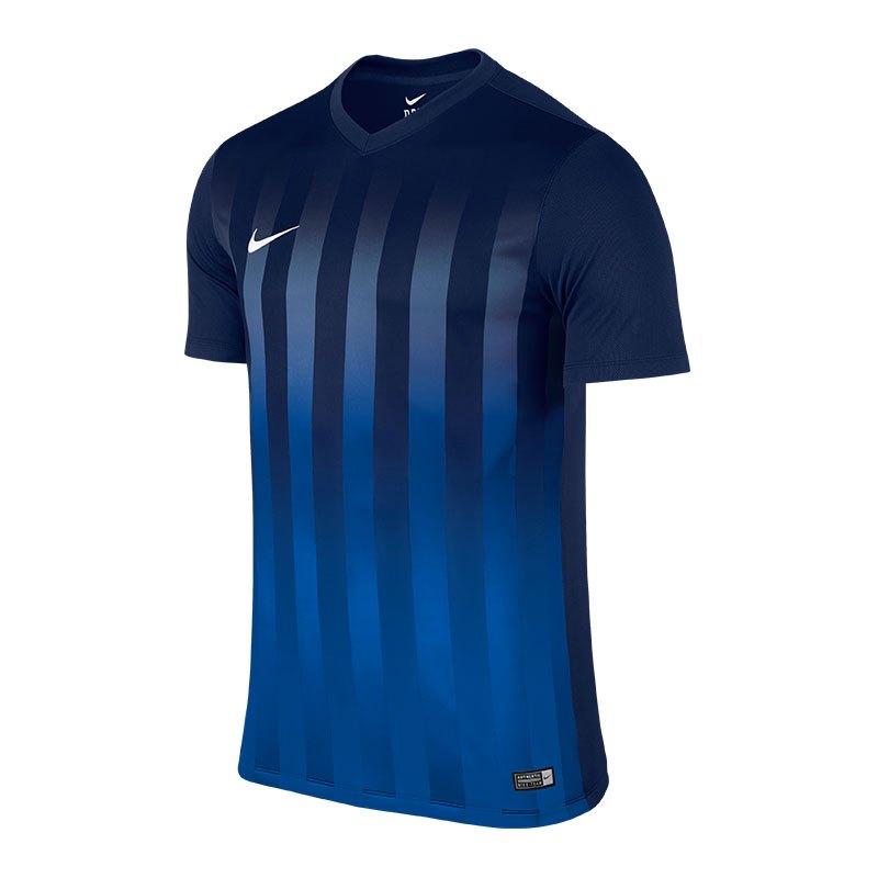Nike Striped Division II Trikot kurzarm Kids F410 - blau