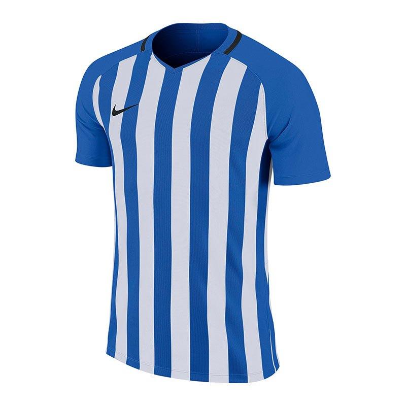 Nike Striped Division III Trikot kurzarm Kids F464 - blau