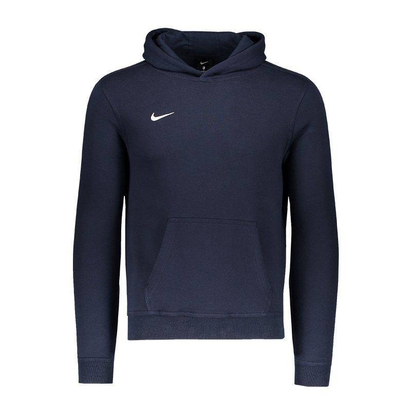 Nike Team Club Hoody Kids Blau F451 - blau