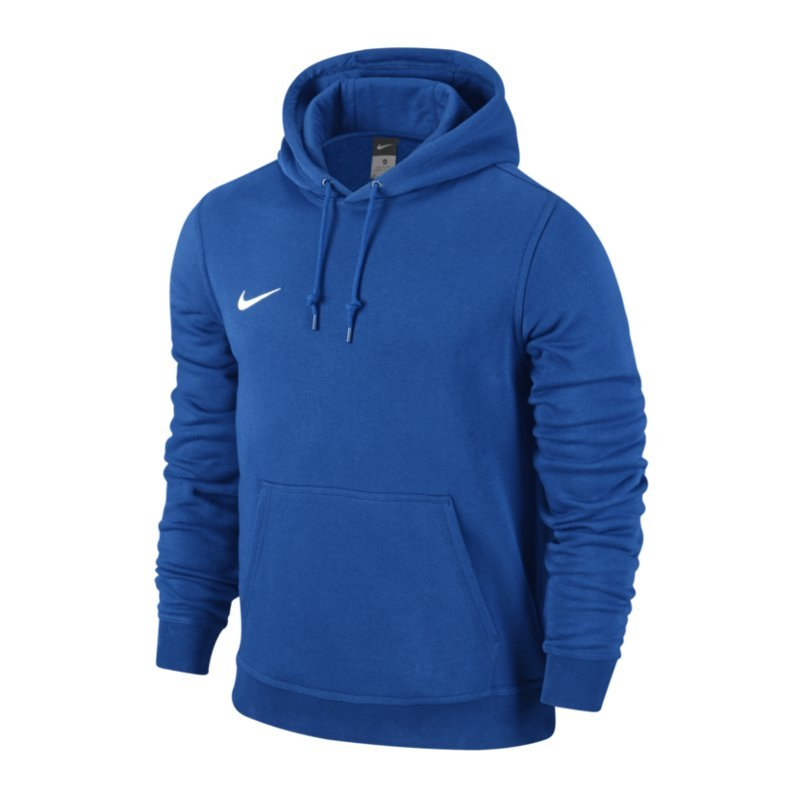 Nike Team Club Hoody Sweatshirt Blau F463 - blau