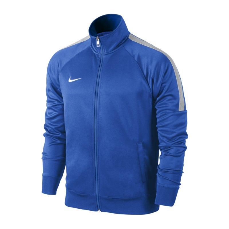 Nike Team Club Trainer Jacket Jacke Blau F463 - blau
