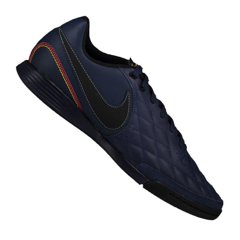 Nike Tiempo X Ligera IV 10R IC Blau F440 - blau