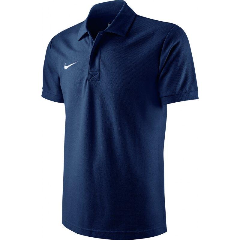Nike TS Core Poloshirt Mens Polo Navy F451 - blau