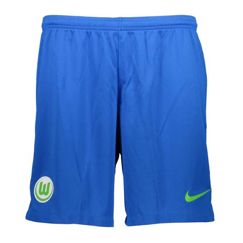 Nike VfL Wolfsburg Short Away 2017/2018 F439 - blau