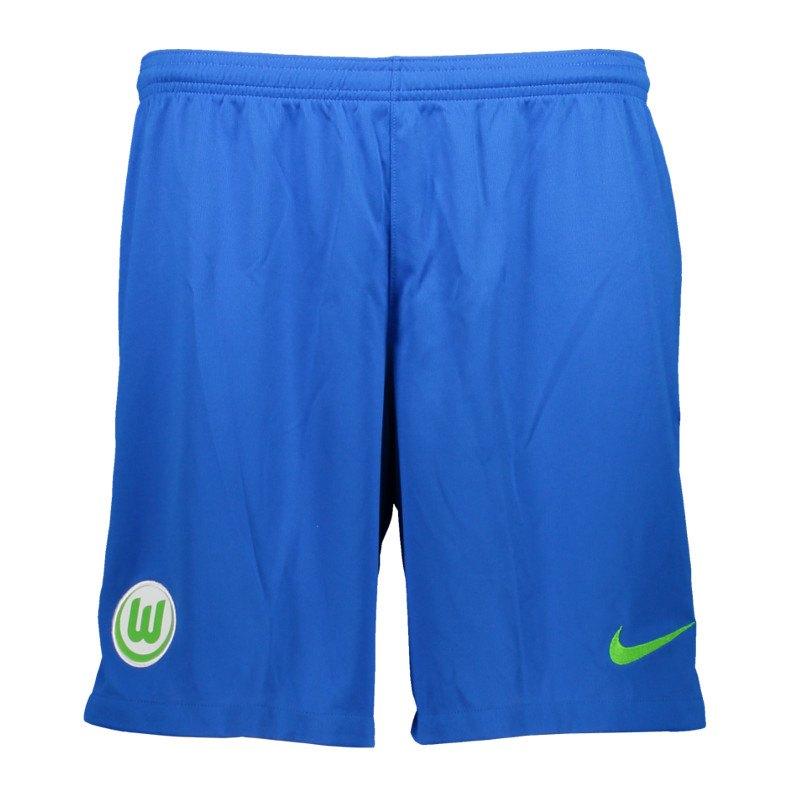 Nike VfL Wolfsburg Short Away Kids 17/18 F439 - blau
