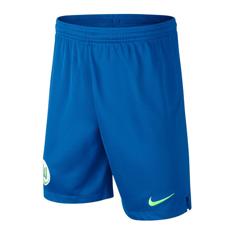Nike VfL Wolfsburg Short Away Kids 2018/2019 F465 - blau
