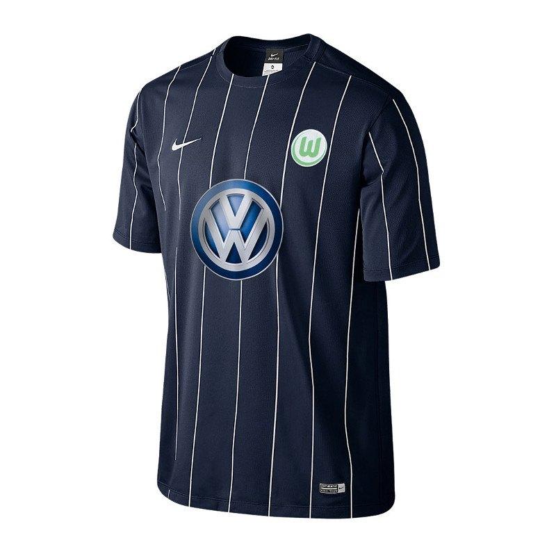 Nike VfL Wolfsburg Trikot 3rd Kids 2016/2017 F410 - blau