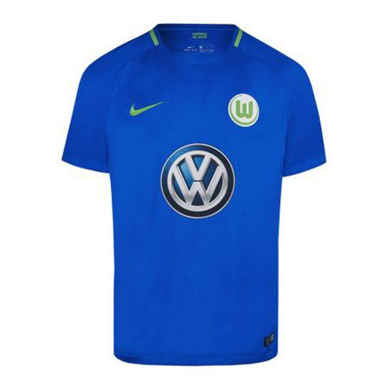 Nike VfL Wolfsburg Trikot Away 2017/2018 F440 - blau