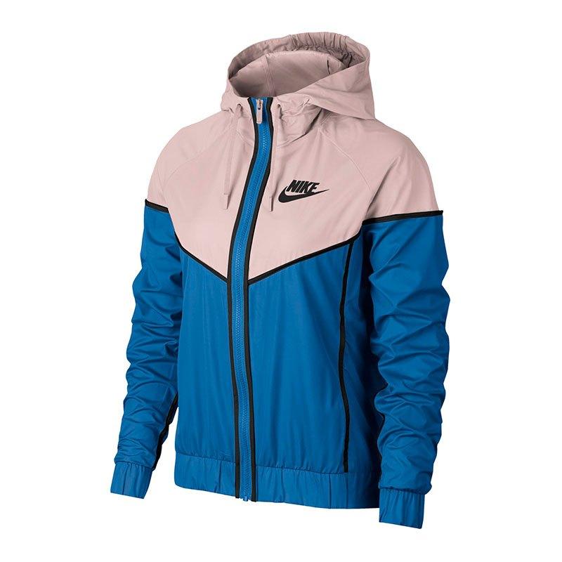 Nike Windrunner Jacket Jacke Damen Blau F403 - blau