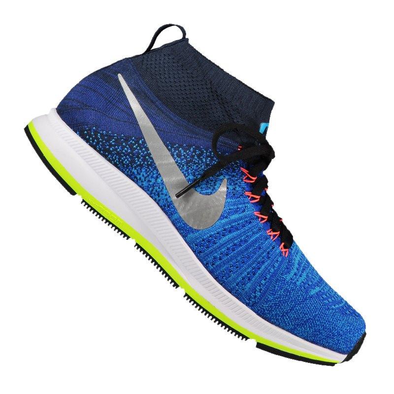 Nike Zoom Pegasus All Out Flyknit Sneaker F400 - blau