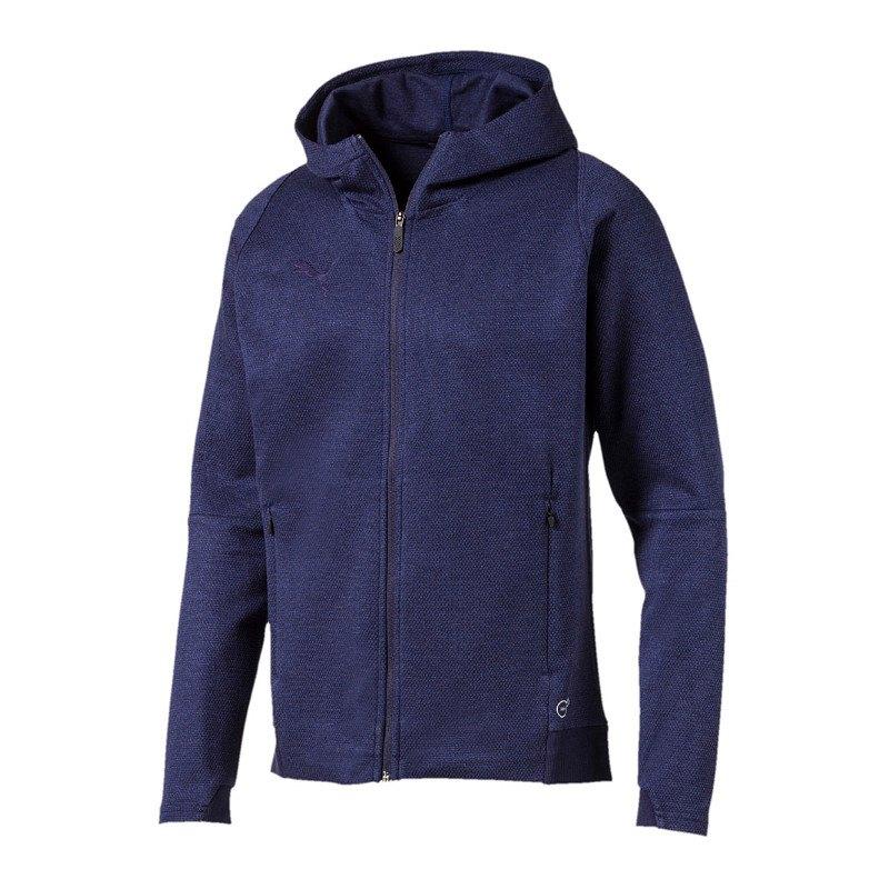 PUMA FINAL Casuals Hooded Jacke Blau F36 - blau