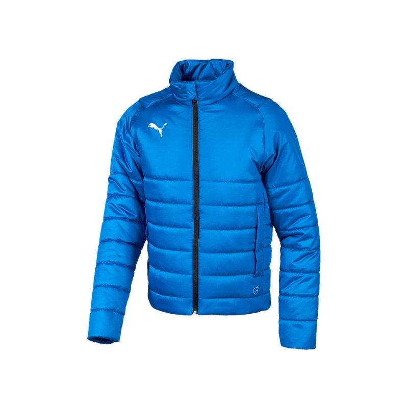 PUMA LIGA Casuals Padded Jacket Kids Blau F02 - blau