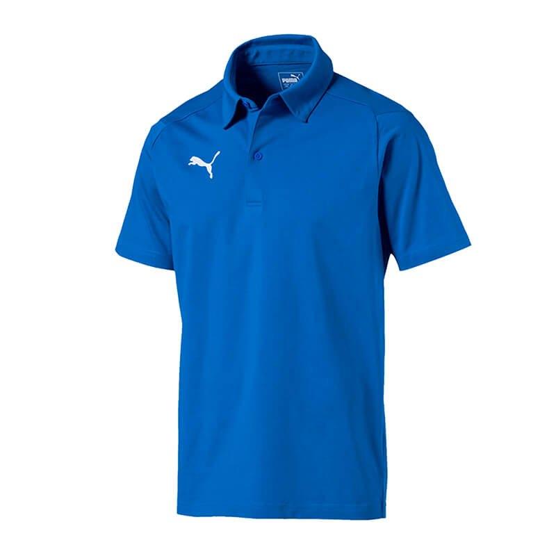 PUMA LIGA Casuals Poloshirt Blau F02 - blau