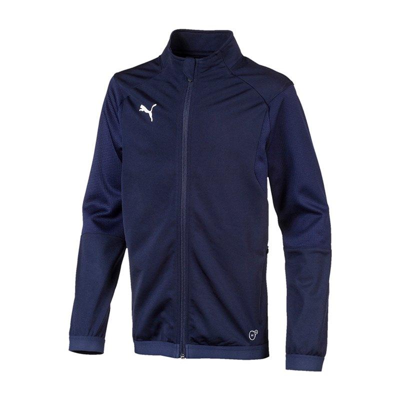 PUMA LIGA Training Jacket Trainingsjacke Kids F06 - blau