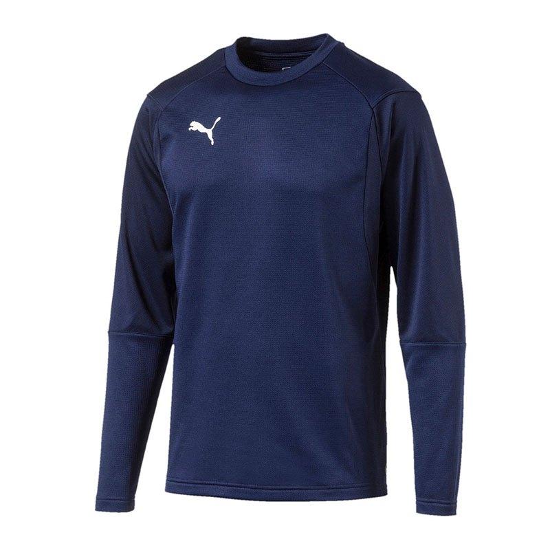 PUMA LIGA Training Sweatshirt Dunkelblau F06 - blau